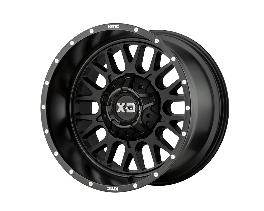 XD Series XD84229035718 XD842 Snare Wheel 20x9 5x5x127/5x139.7 +18mm Satin Black