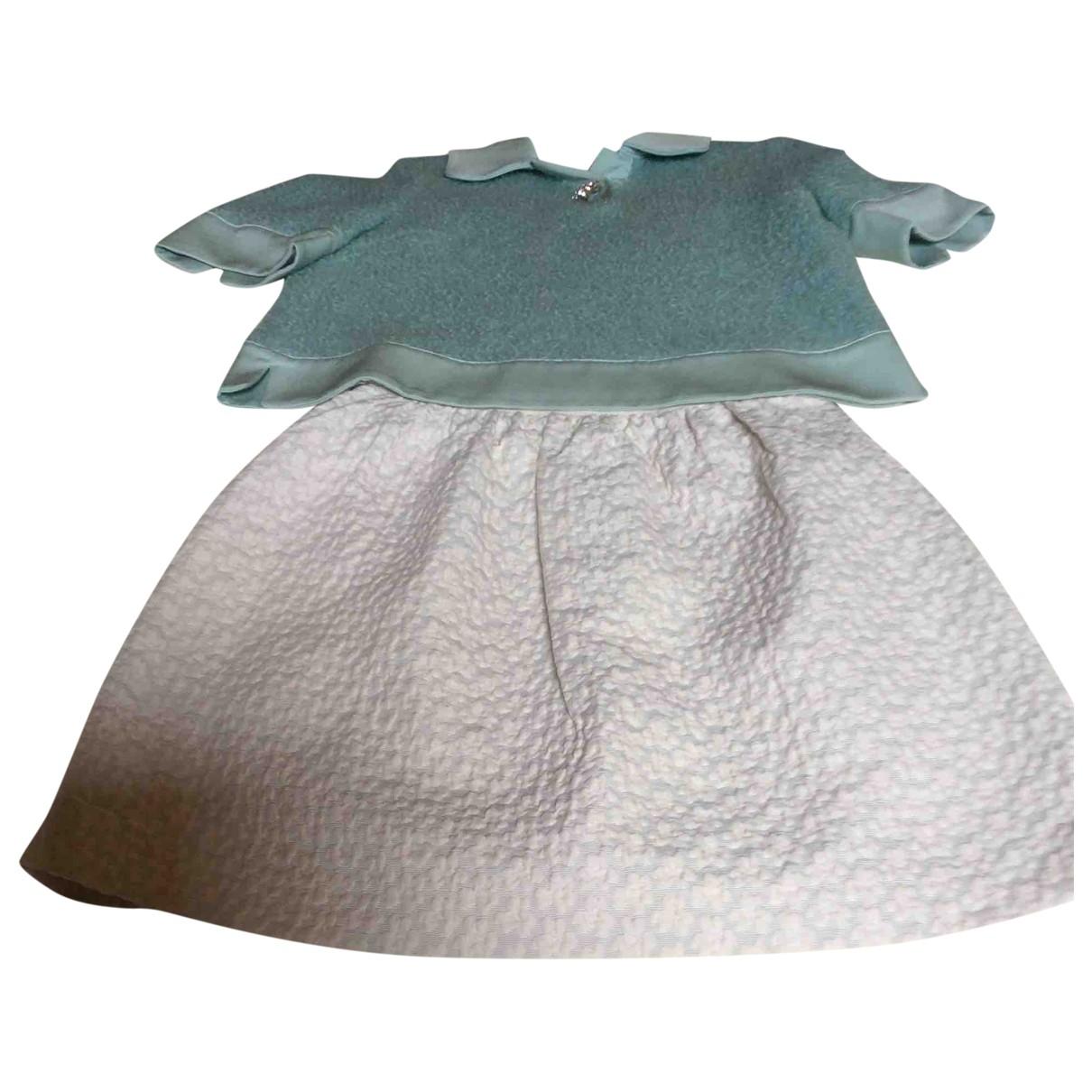 Tara Jarmon \N Ecru Cotton dress for Women 36 FR