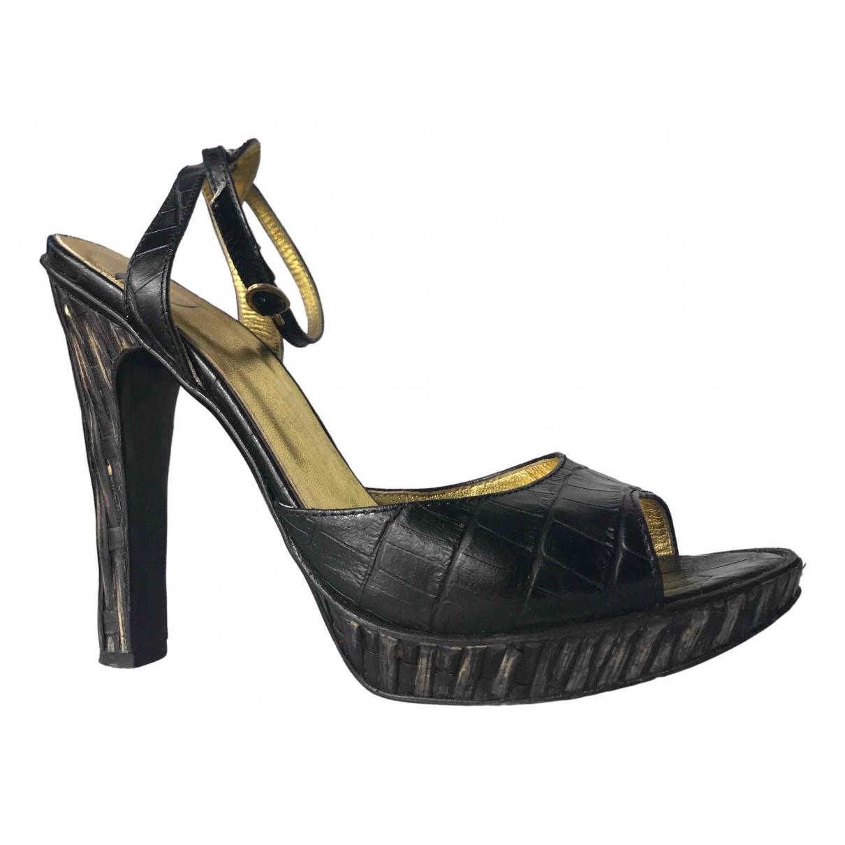 Sandalias romanas de Cuero Just Cavalli