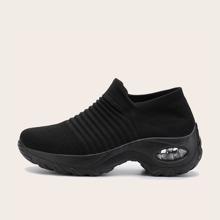 Slip On Sneakers mit klobigem Absatz
