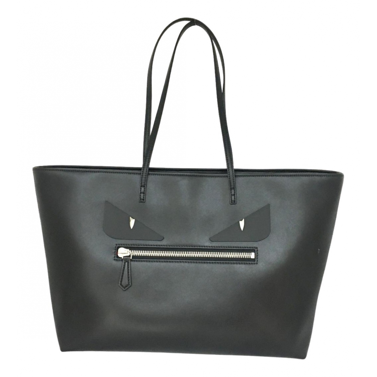 Fendi \N Black Leather handbag for Women \N