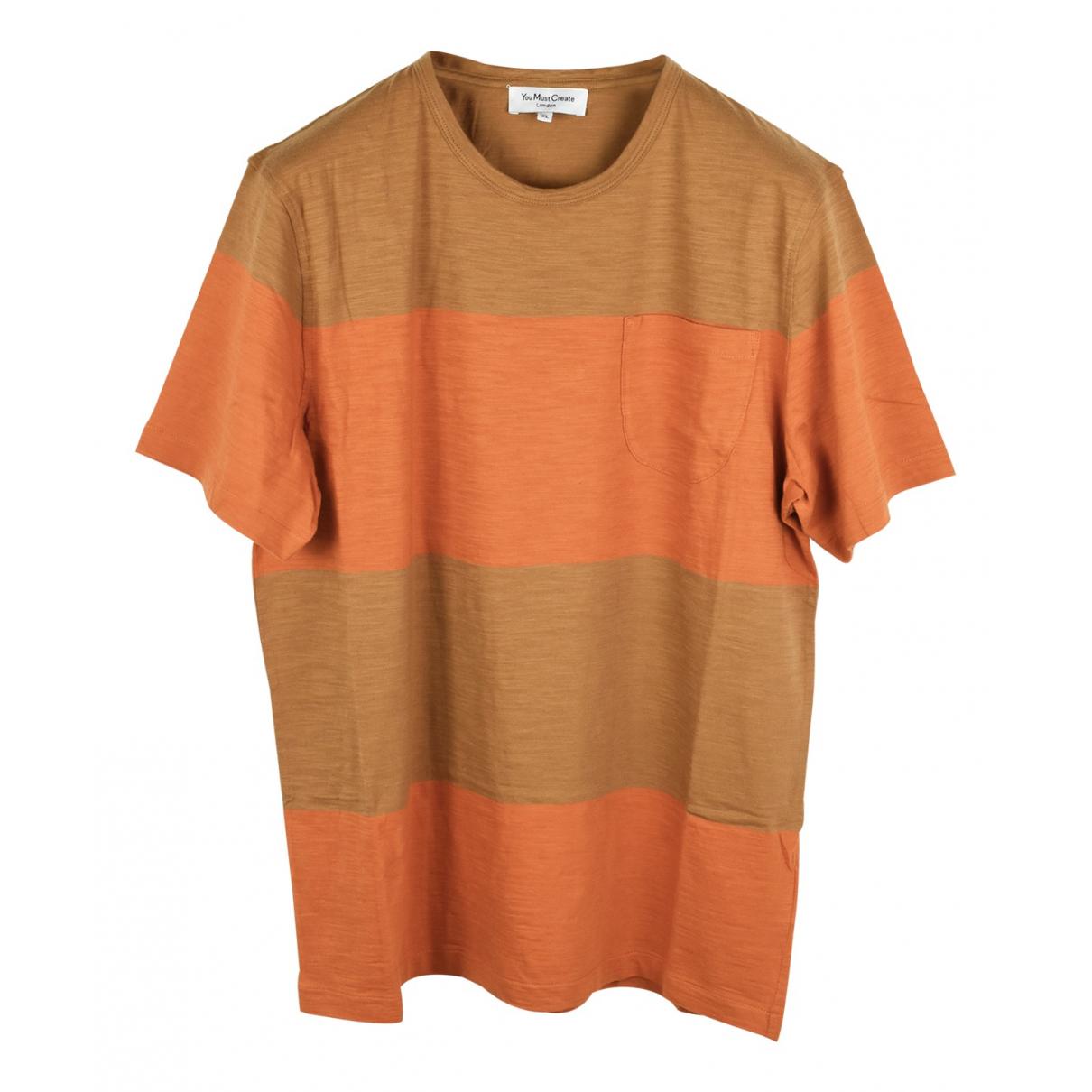 Ymc N Multicolour Cotton T-shirts for Men L International