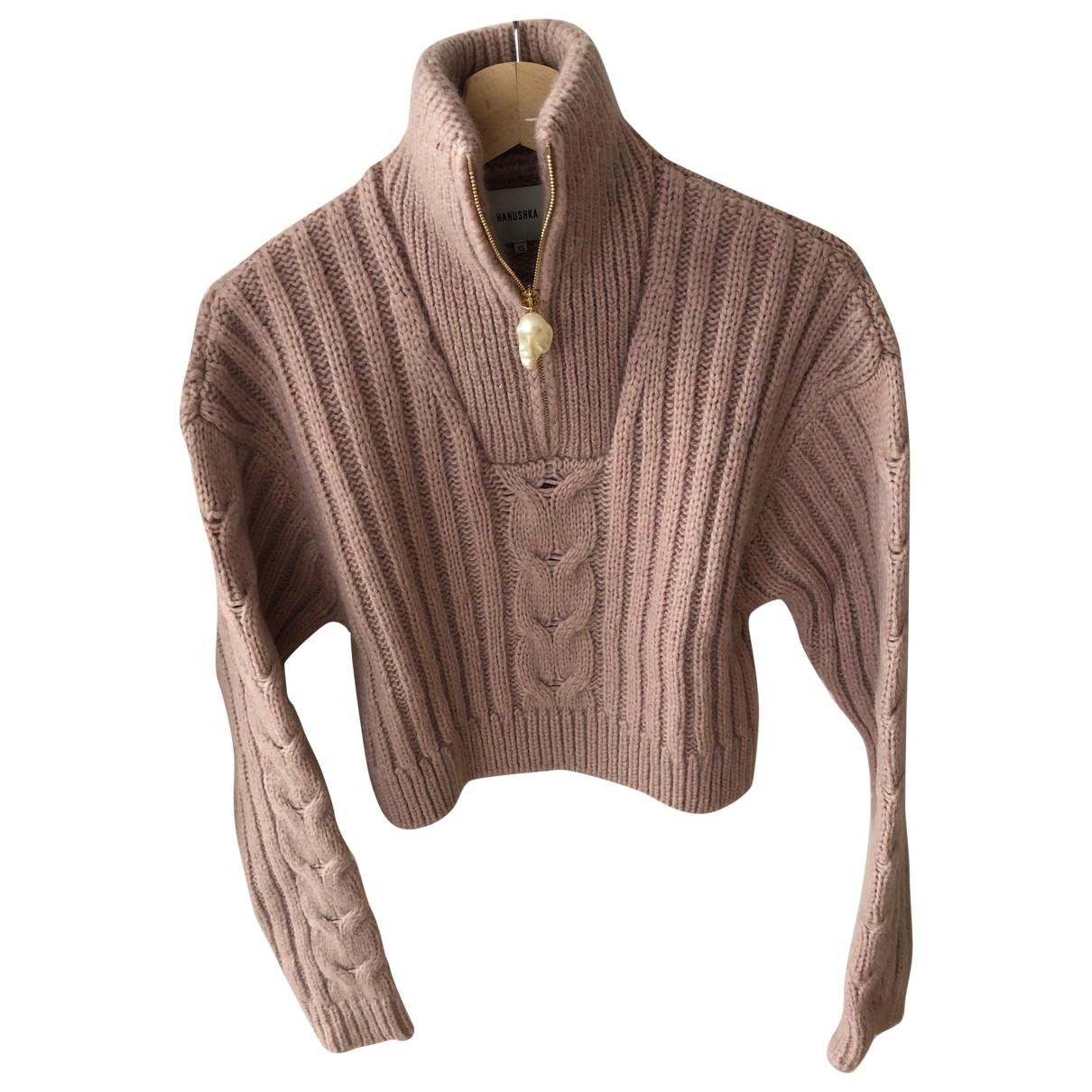 Nanushka \N Pink Wool Knitwear for Women XS International