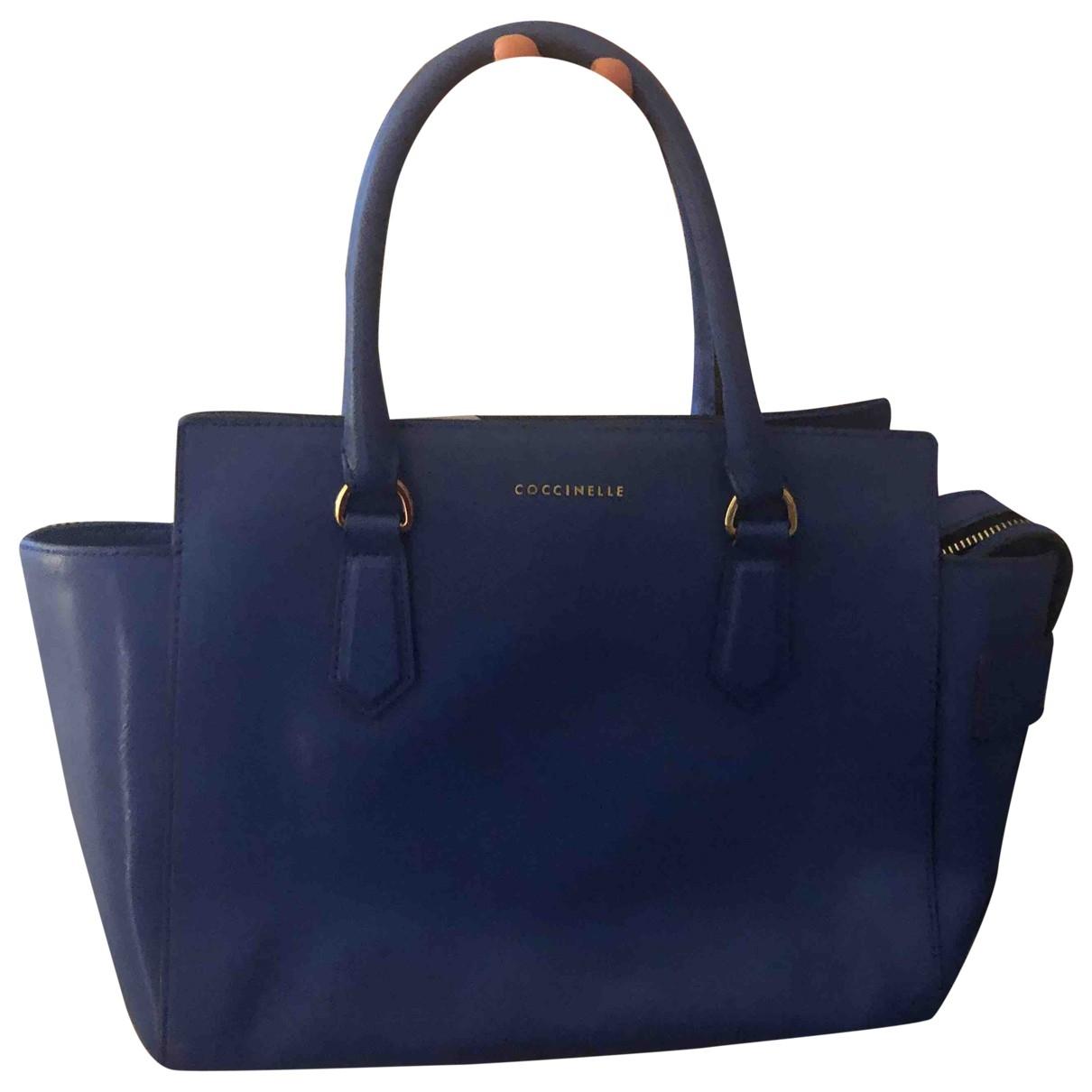 Coccinelle \N Blue Leather handbag for Women \N