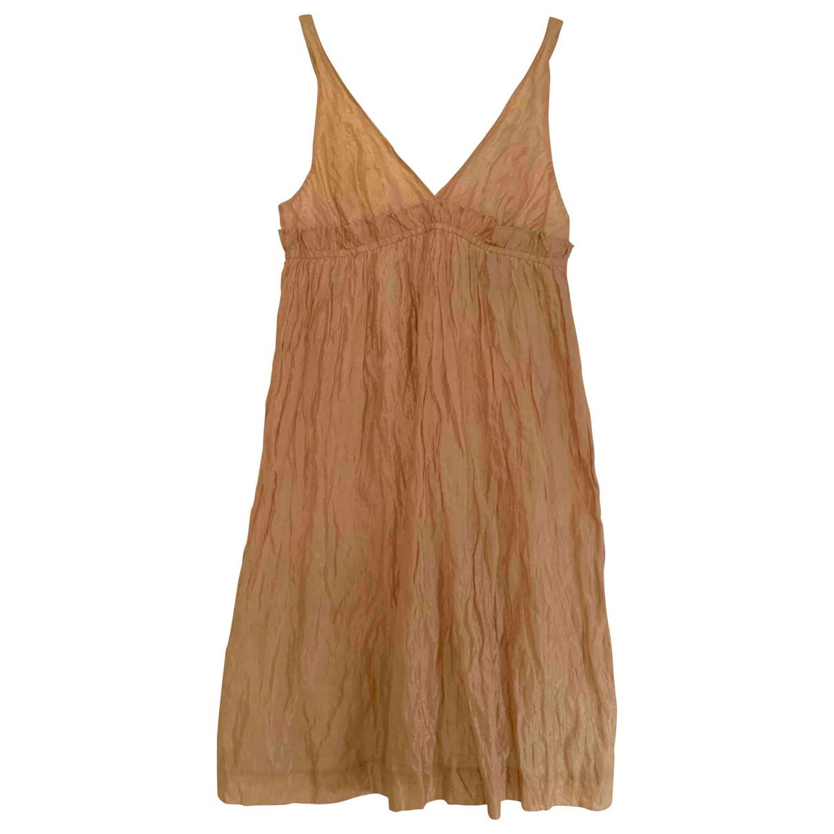Aspesi \N Ecru Silk dress for Women 40 IT