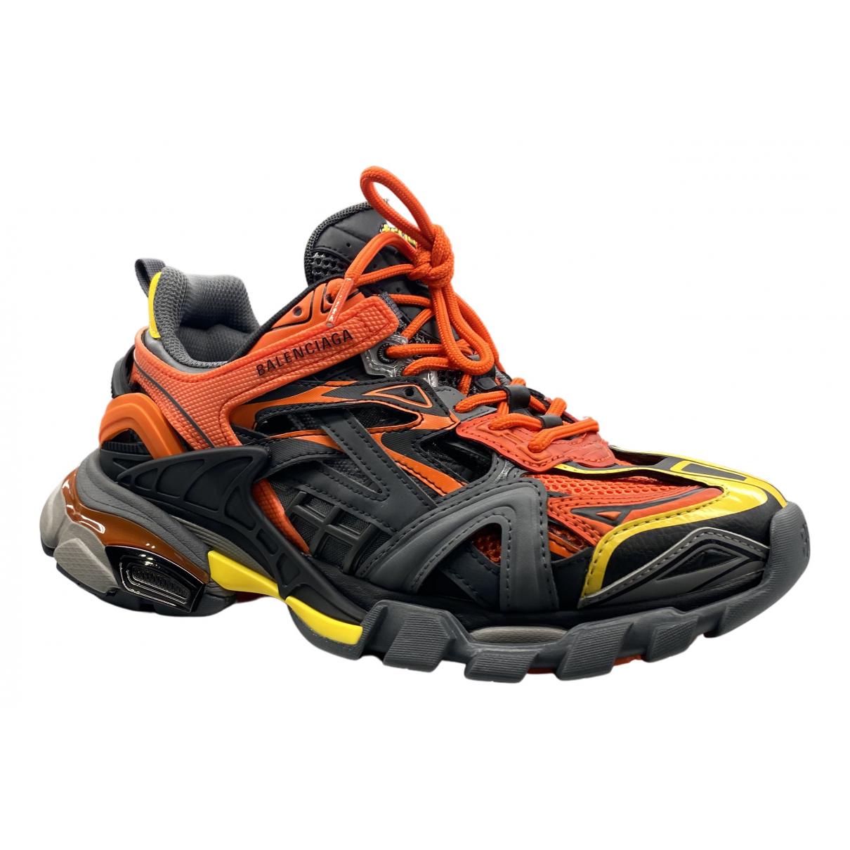 Balenciaga Track Sneakers in  Schwarz Polyester