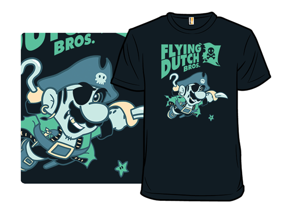 Flying Dutch Bros T Shirt