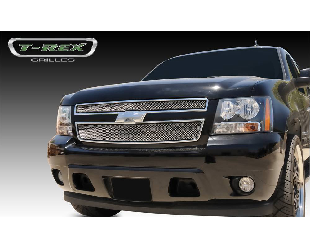 2007-2013 Avalanche, 07-14 Sub/Tahoe Sport Grille, Chrome, 2 Pc, Overlay - PN #44051