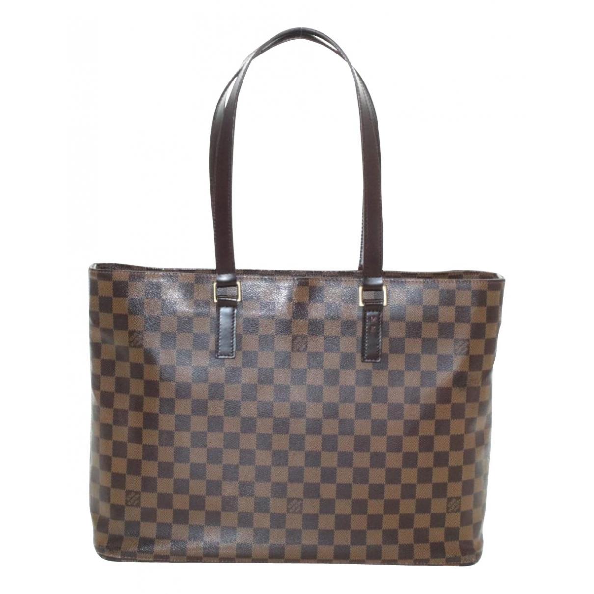 Louis Vuitton Luco Brown Cloth handbag for Women N
