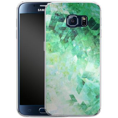 Samsung Galaxy S6 Silikon Handyhuelle - Occult Galaxy Structure von Barruf
