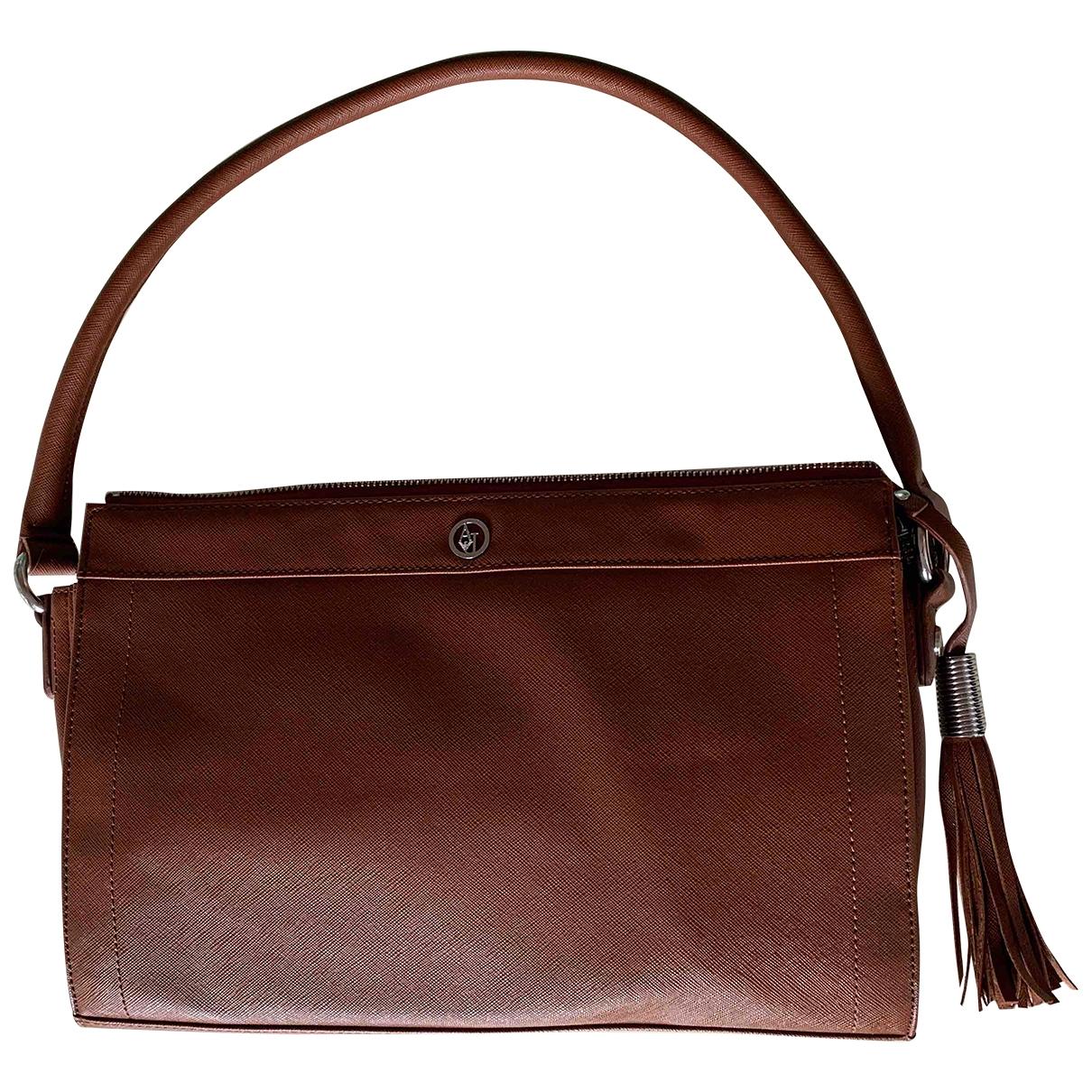 Armani Jeans \N Handtasche in  Braun Polyester