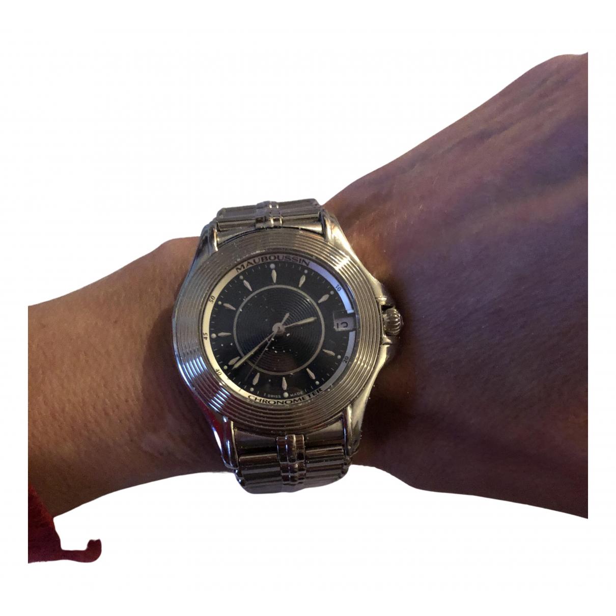 Mauboussin \N Uhr in  Silber Stahl