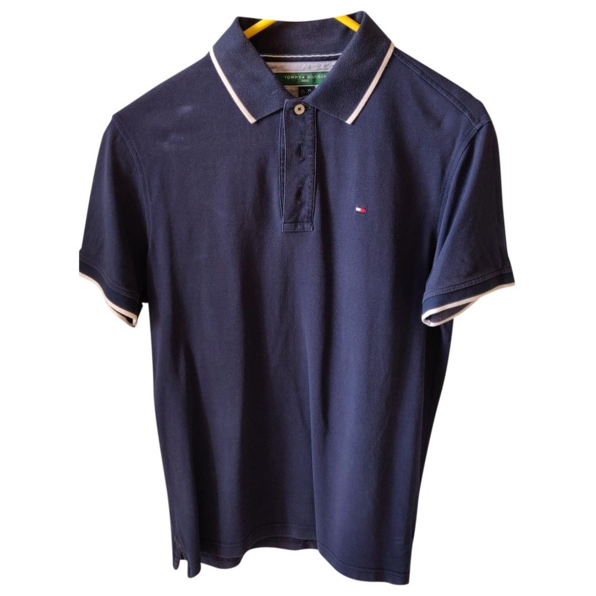 Tommy Hilfiger \N Poloshirts in  Schwarz Baumwolle