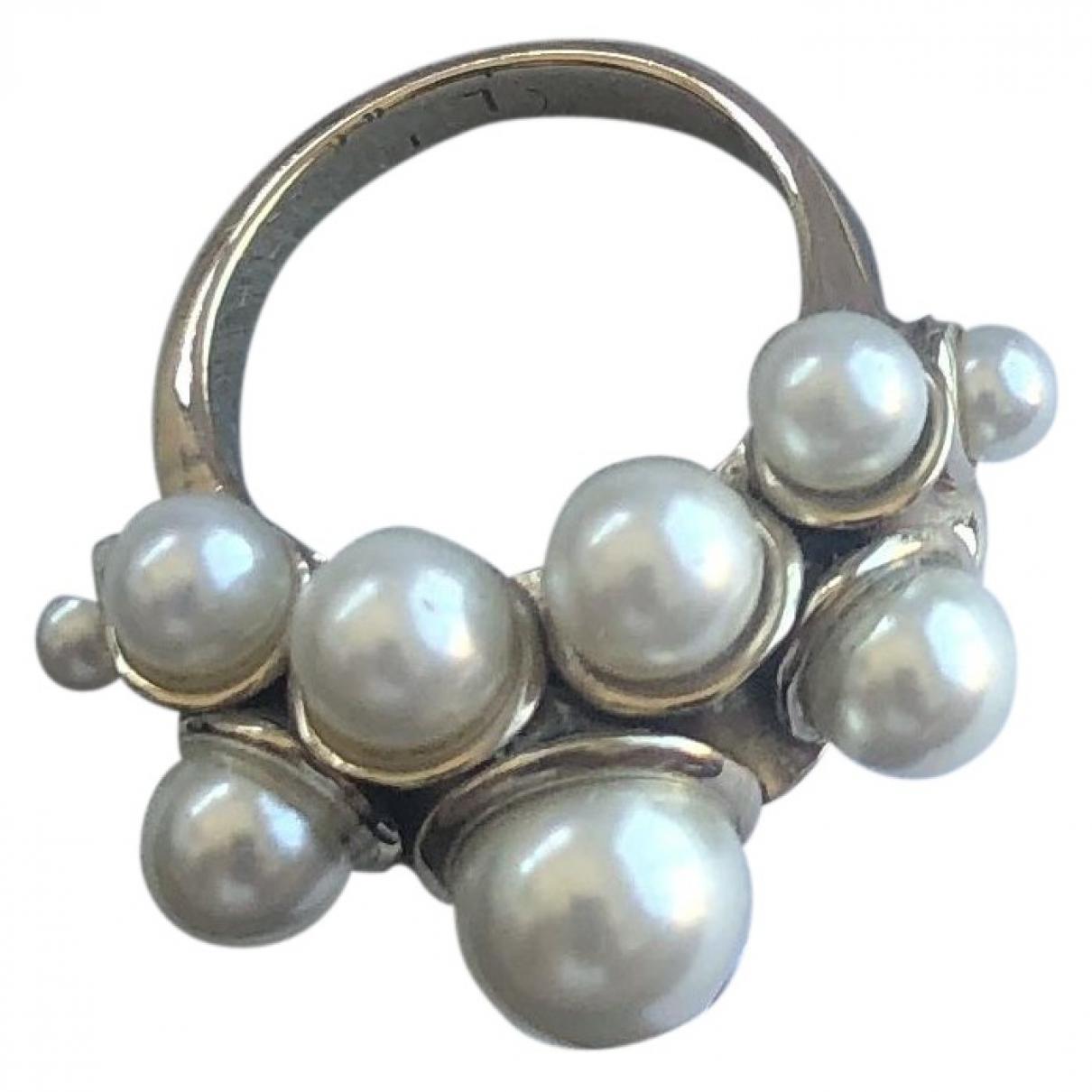 Dior - Bague   pour femme en metal - blanc