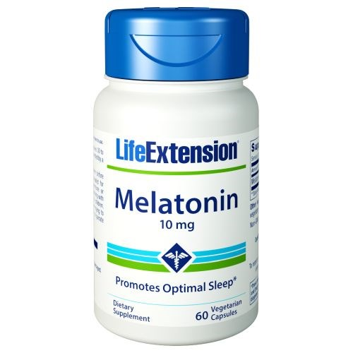 Melatonin 6 Hour Timed Release 60 caps by Life Extension