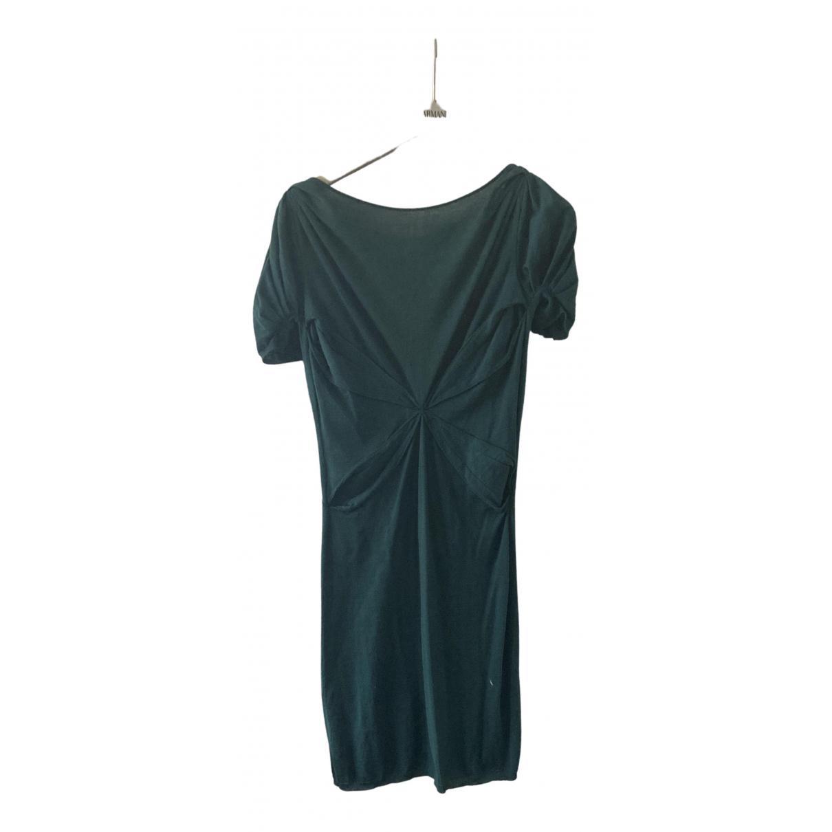 Anne Valerie Hash - Robe   pour femme en laine - vert