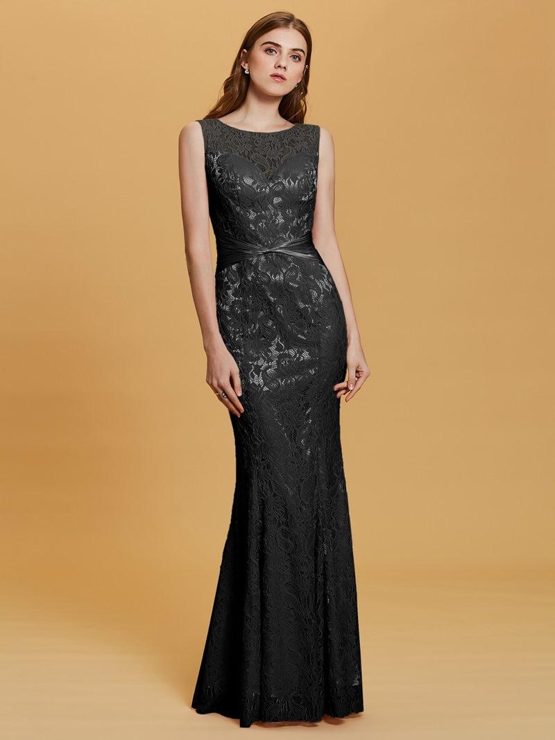 Ericdress Scoop Neck Mermaid Lace Evening Dress