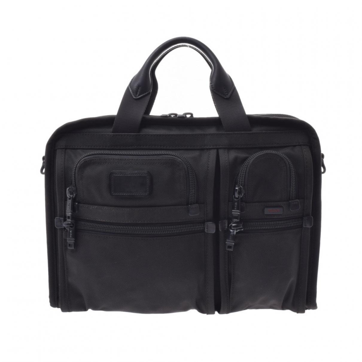 Tumi N Black Cloth bag for Men N