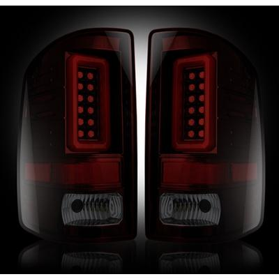 Recon LED Tail Light Assembly (Red Smoked) - 264239RBK