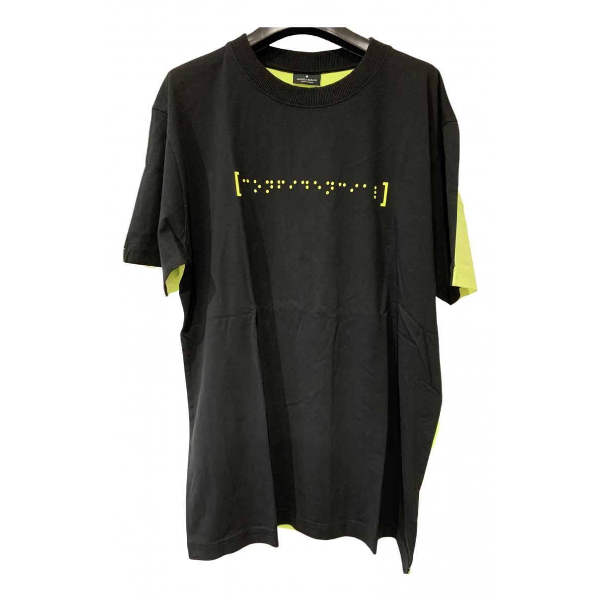 Marcelo Burlon - Tee shirts   pour homme en coton - noir