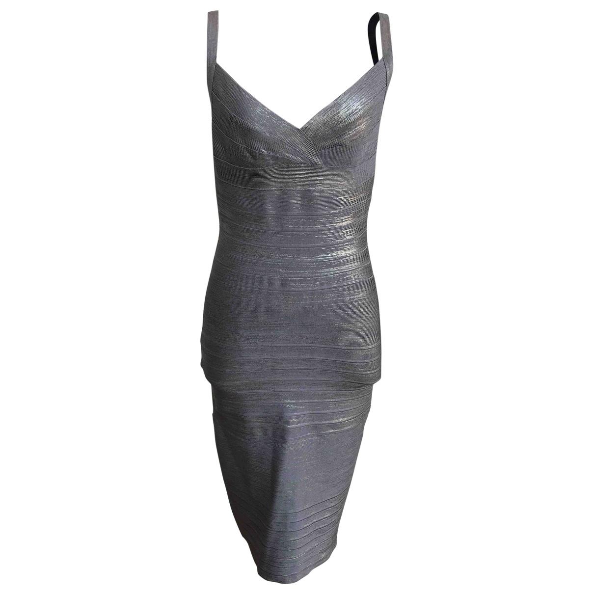 Herve Leger \N Brown dress for Women S International