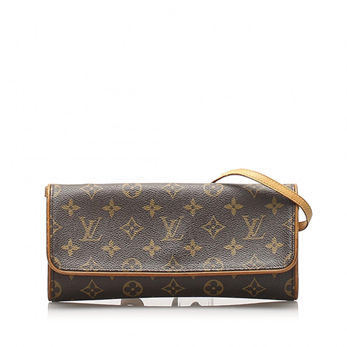 Bandolera Twin de Lona Louis Vuitton