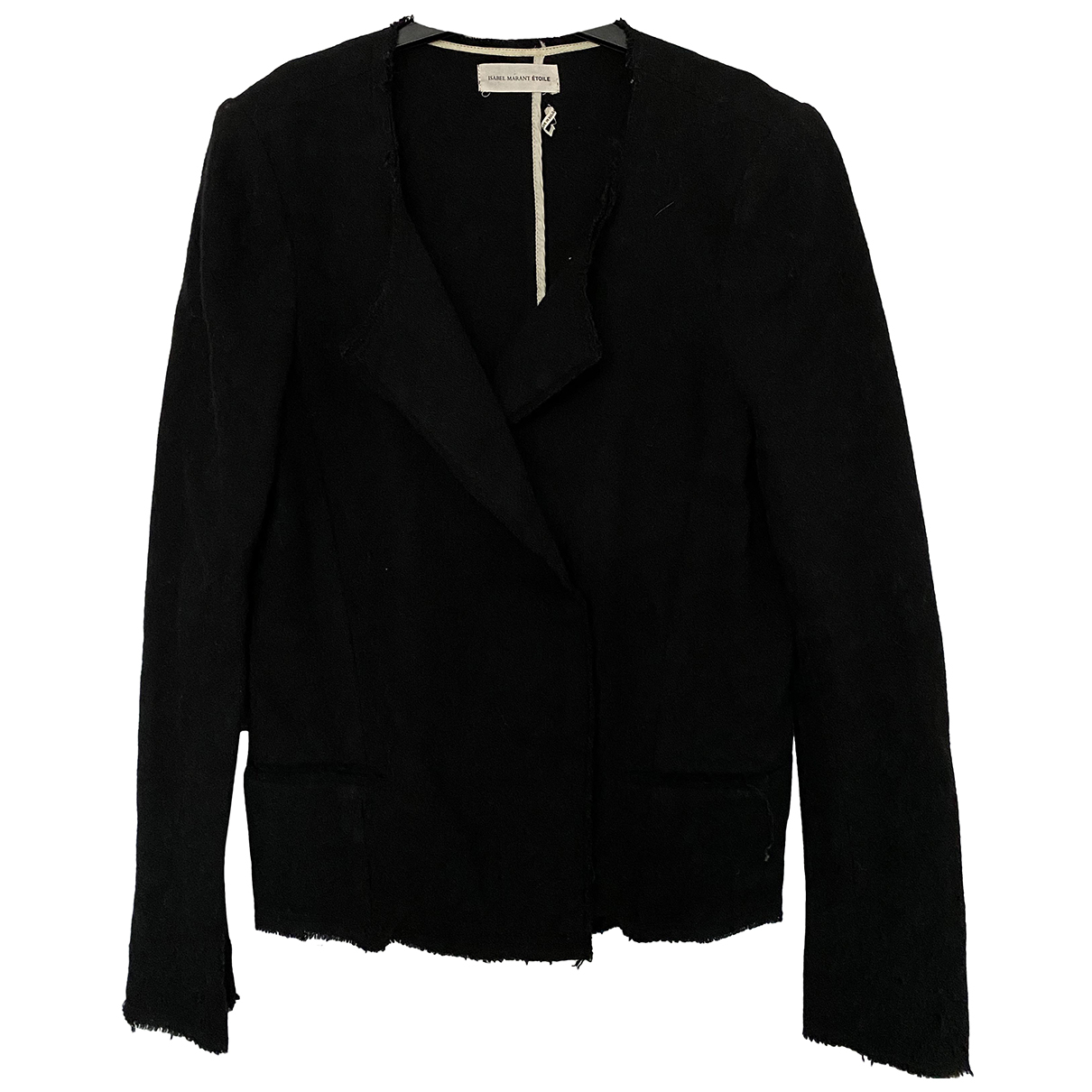 Isabel Marant Etoile N Black Wool jacket for Women 40 FR