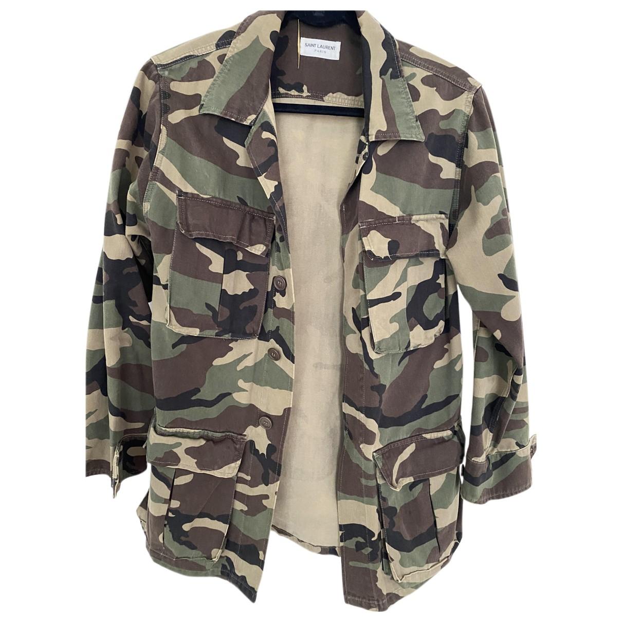Saint Laurent N Cotton jacket for Women 38 FR