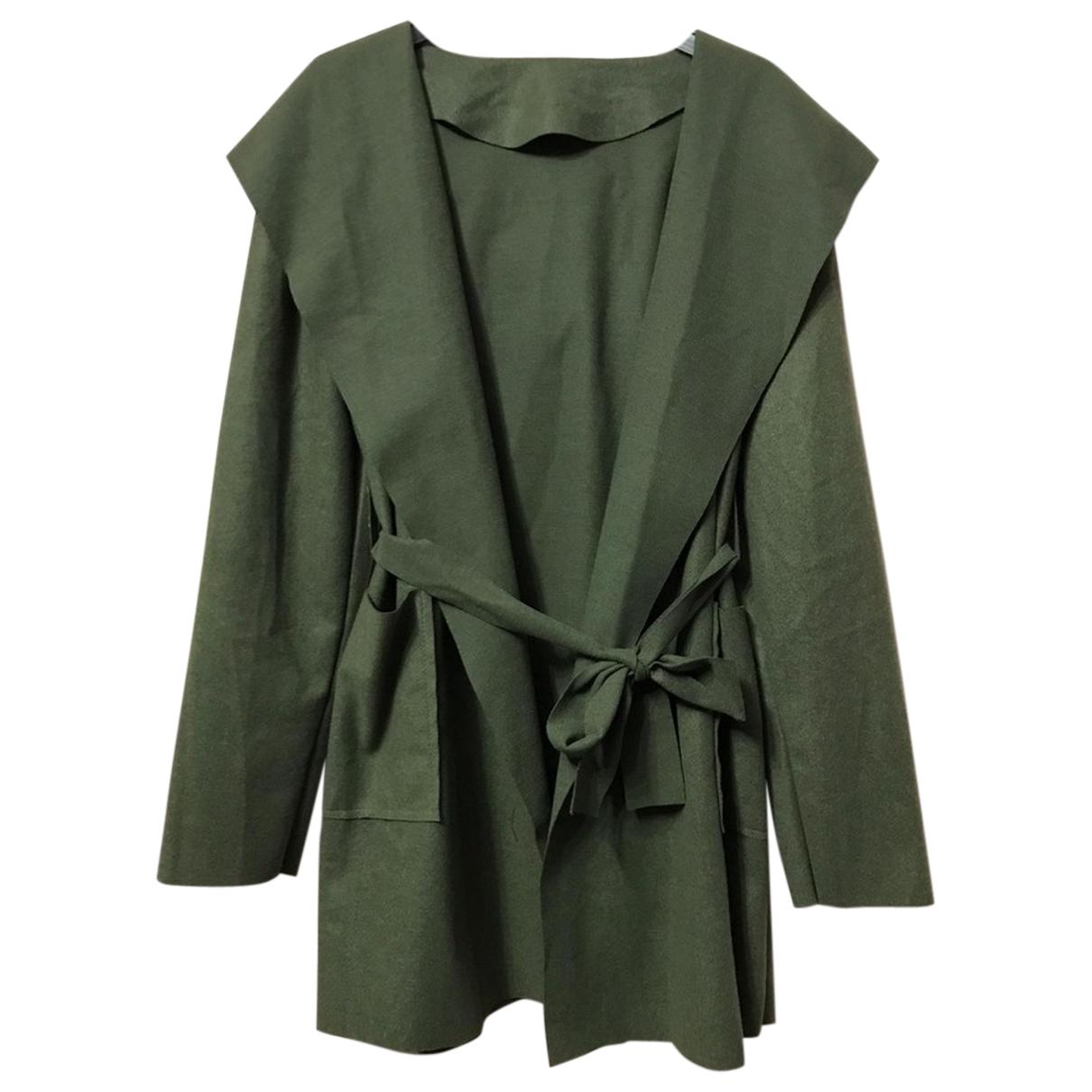 Autre Marque - Manteau   pour femme - kaki