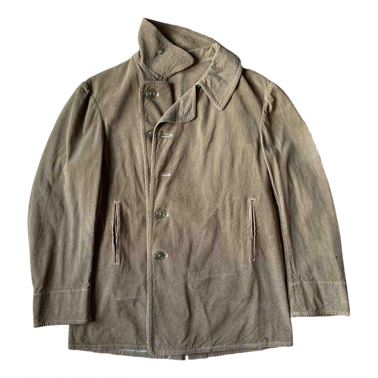 Y-3 By Yohji Yamamoto N Beige Velvet jacket  for Men 50 FR