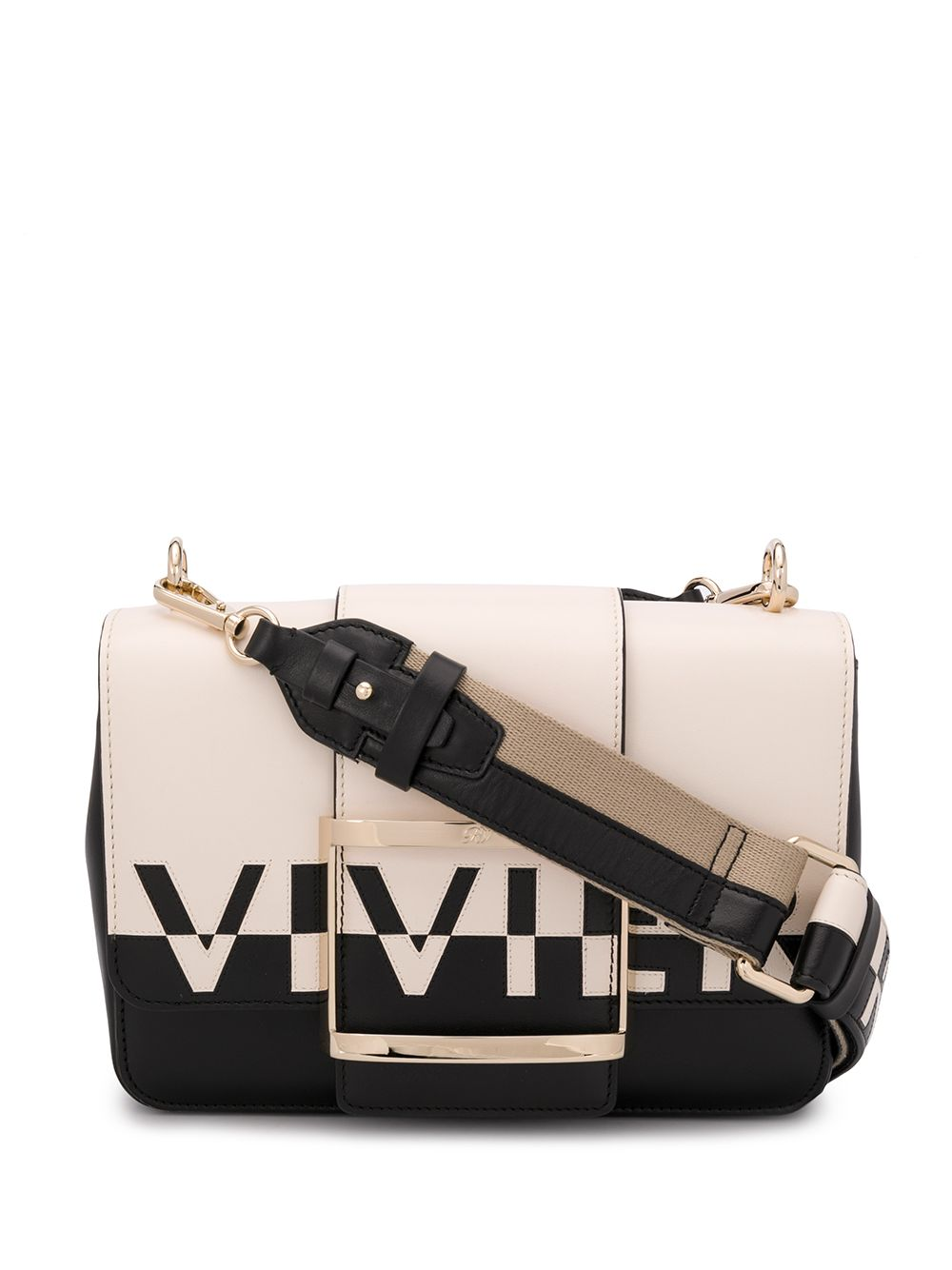 Tres Vivier Small Leather Bag