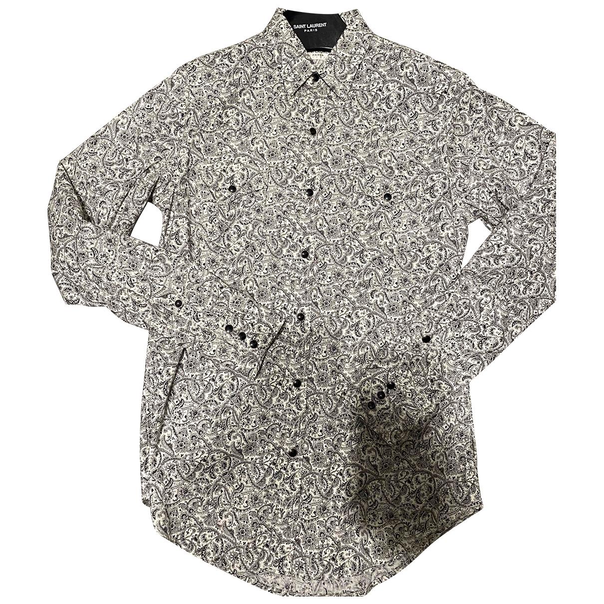 Saint Laurent - Chemises   pour homme en coton