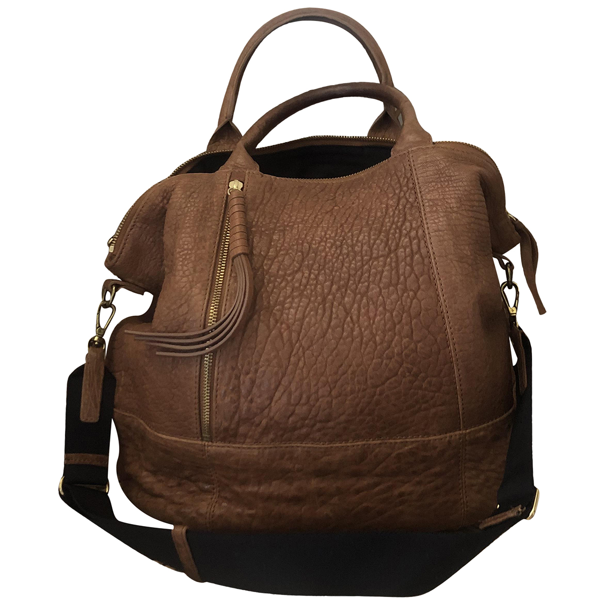 Gerard Darel N Camel Leather handbag for Women N