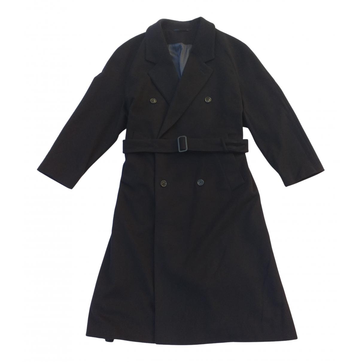 Valentino Garavani - Manteau   pour homme en laine - marine