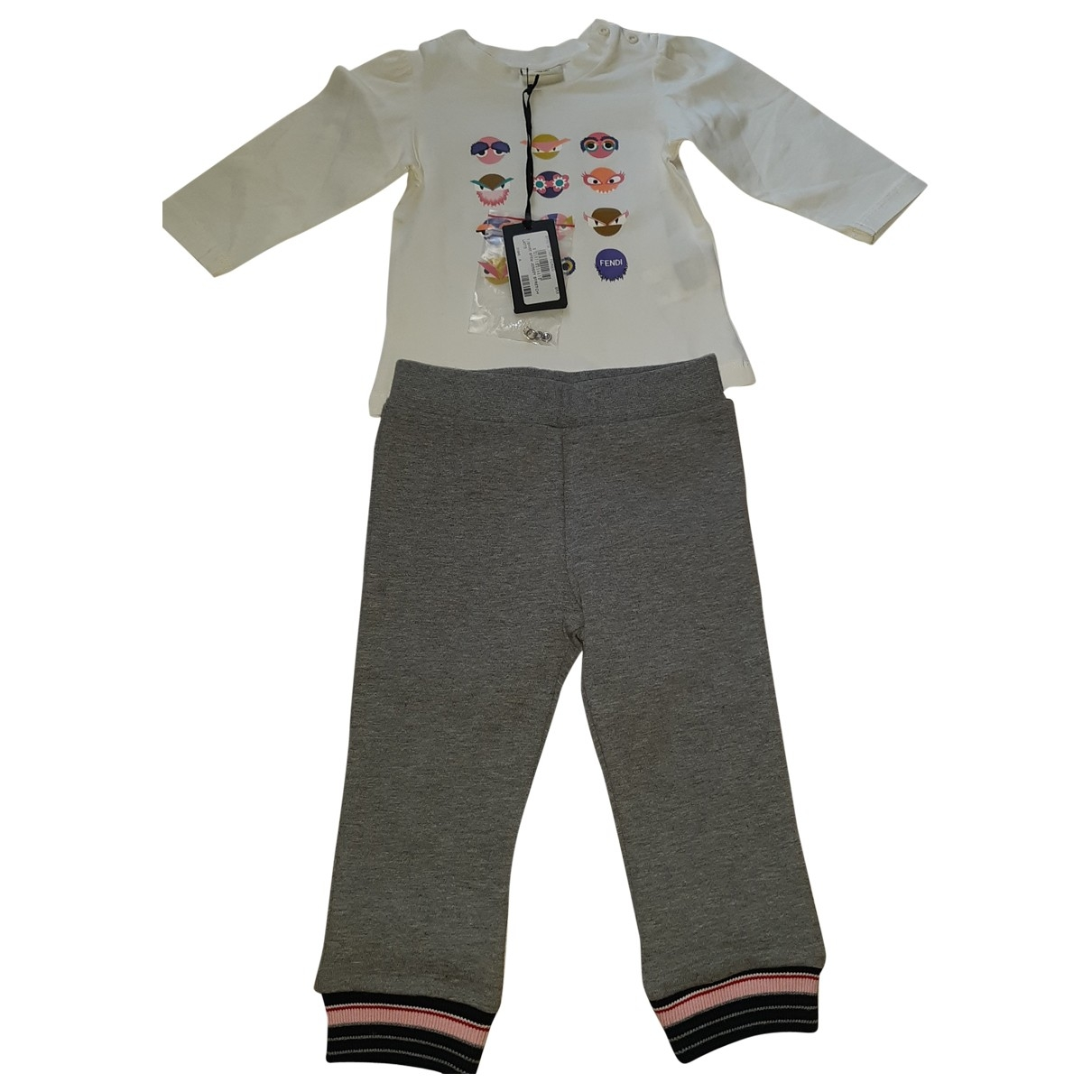 Fendi \N Multicolour Cotton Outfits for Kids 9 months - up to 71cm FR