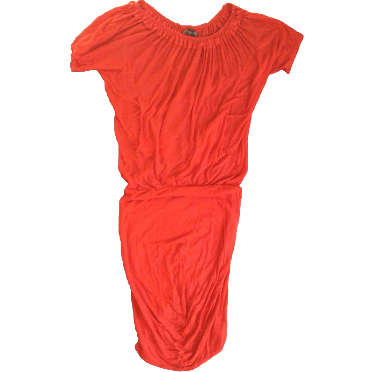 Mcq \N Red Cotton dress for Women M International