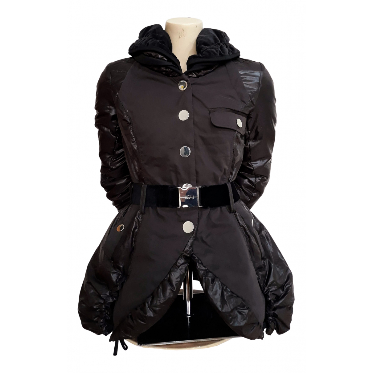 Claire Campbell \N Jacke in  Braun Synthetik