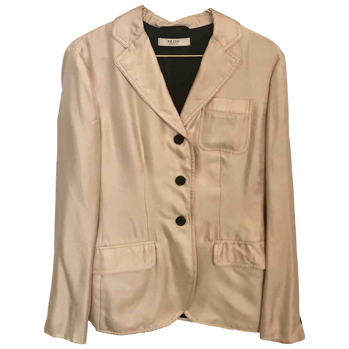 Prada \N Silk jacket for Women 42 IT
