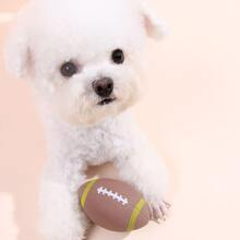 1pc Football Shaped Dog Sound Toy