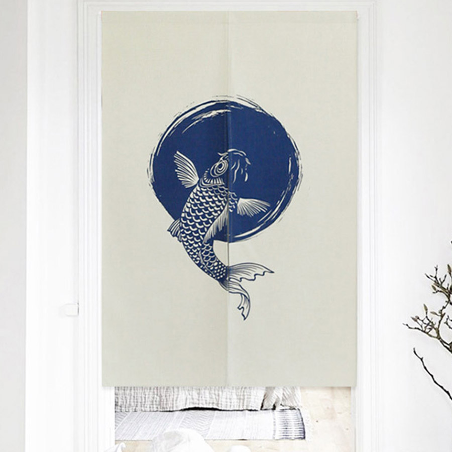 Carp to Leap onto the Goal Printing Hanging Wall Tapestry