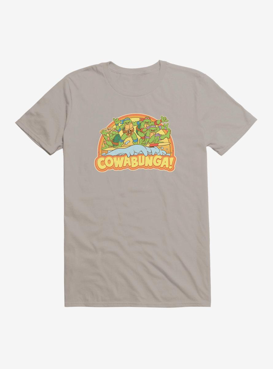 Teenage Mutant Ninja Turtles Cowabunga Group Surf T-Shirt
