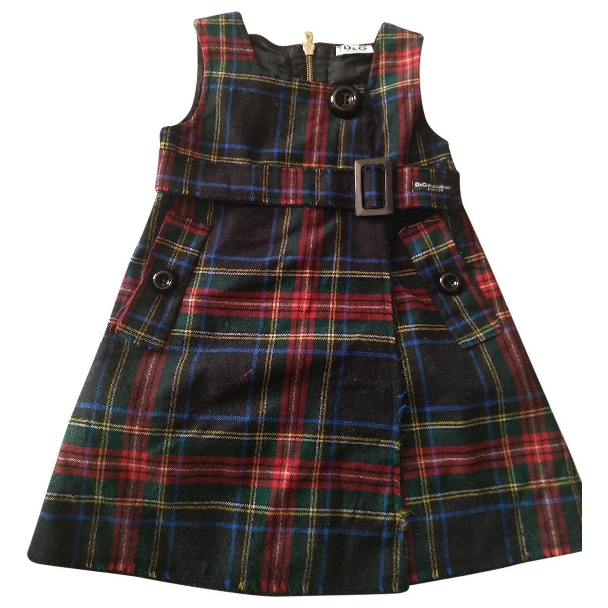 D&g - Robe    pour enfant en laine - multicolore