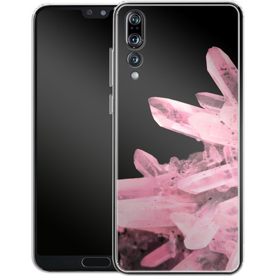 Huawei P20 Pro Silikon Handyhuelle - Magic Crystals von Emanuela Carratoni