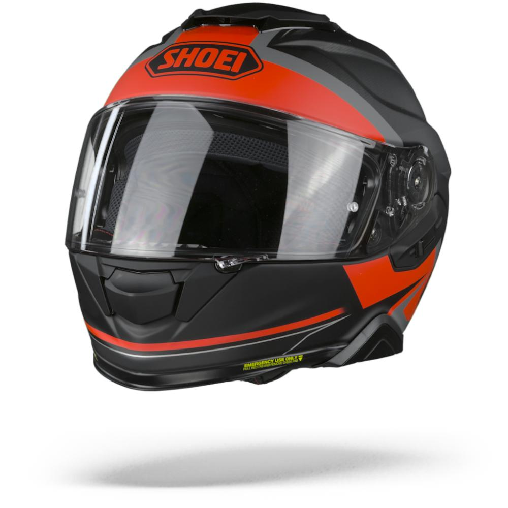 Shoei GT-Air II Affair TC-1 Casco Integral Mate Negro Gris Rojo M