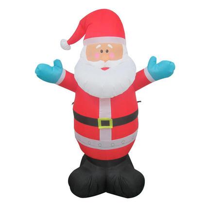 Père Noël Gonflable de Noël avec Lumières & Ventilateur, Airblown CSA 4 pieds (1.2m)