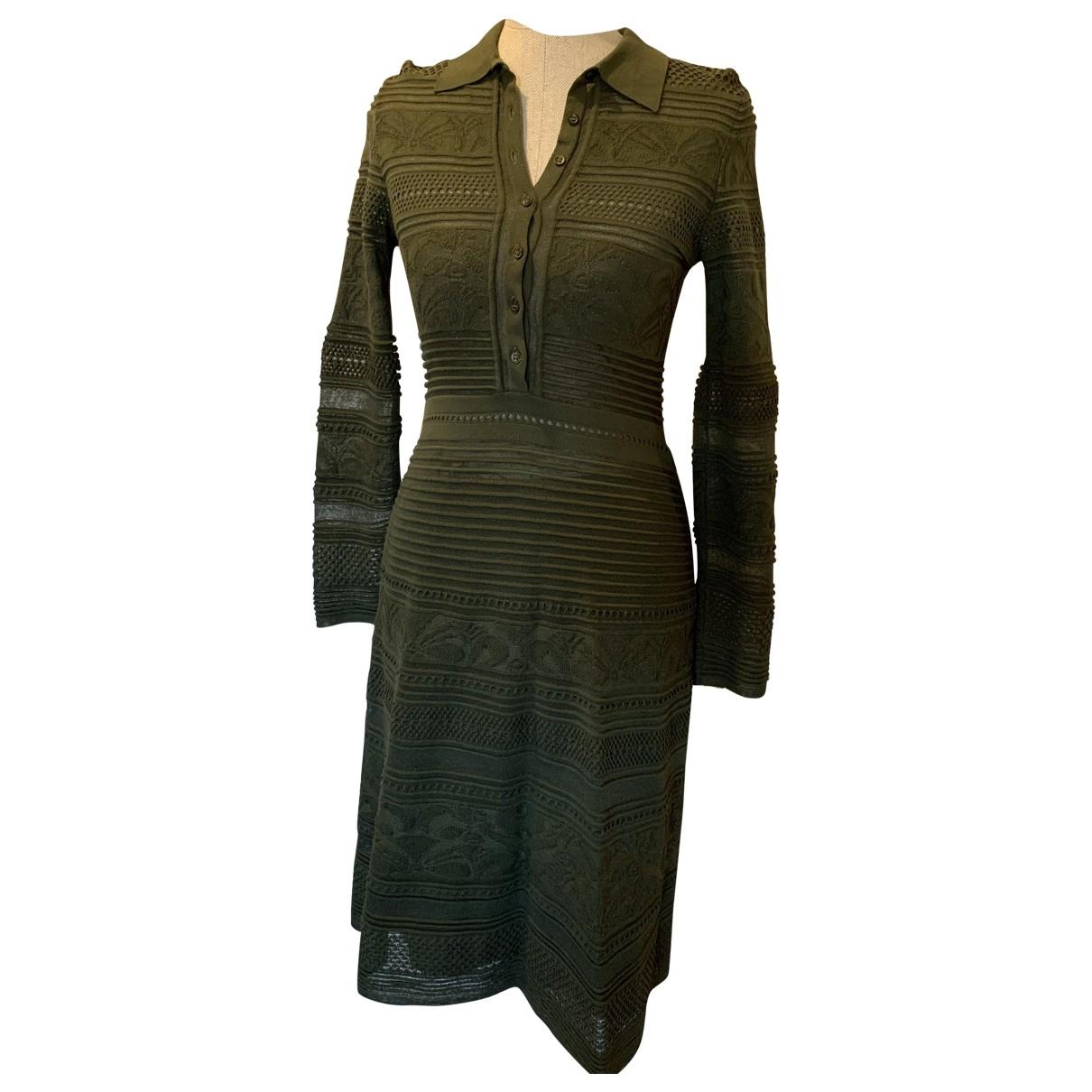 M Missoni \N Kleid in  Khaki Wolle