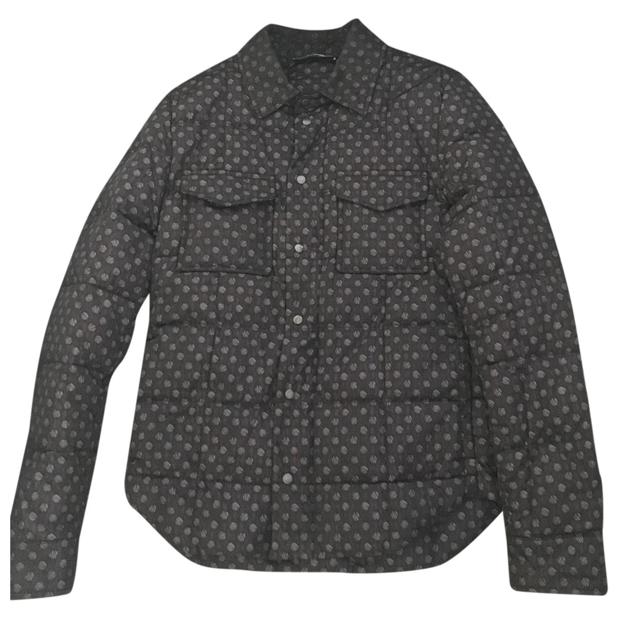 Dolce & Gabbana \N Maentel in  Marine Polyester