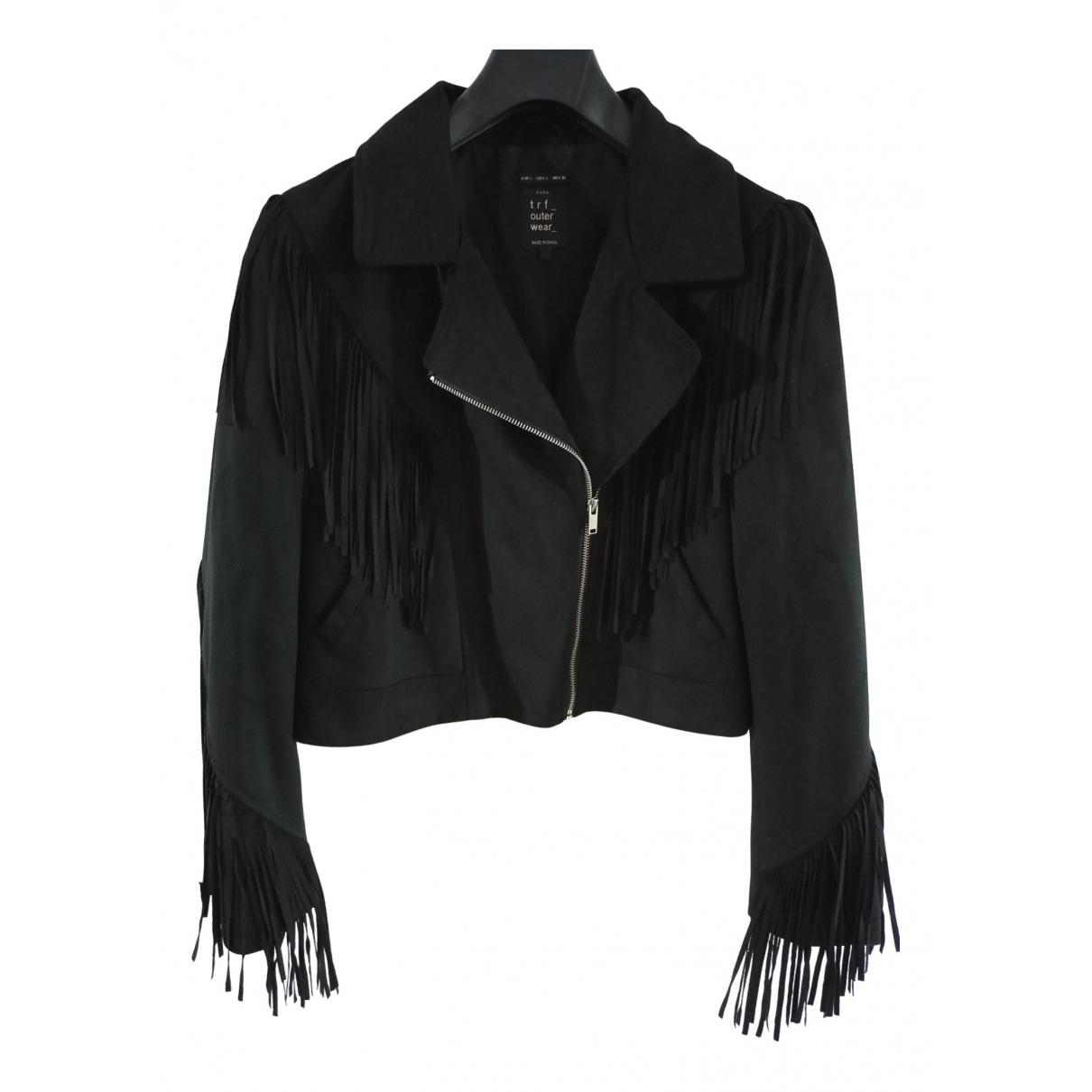 Zara - Blouson   pour femme - noir