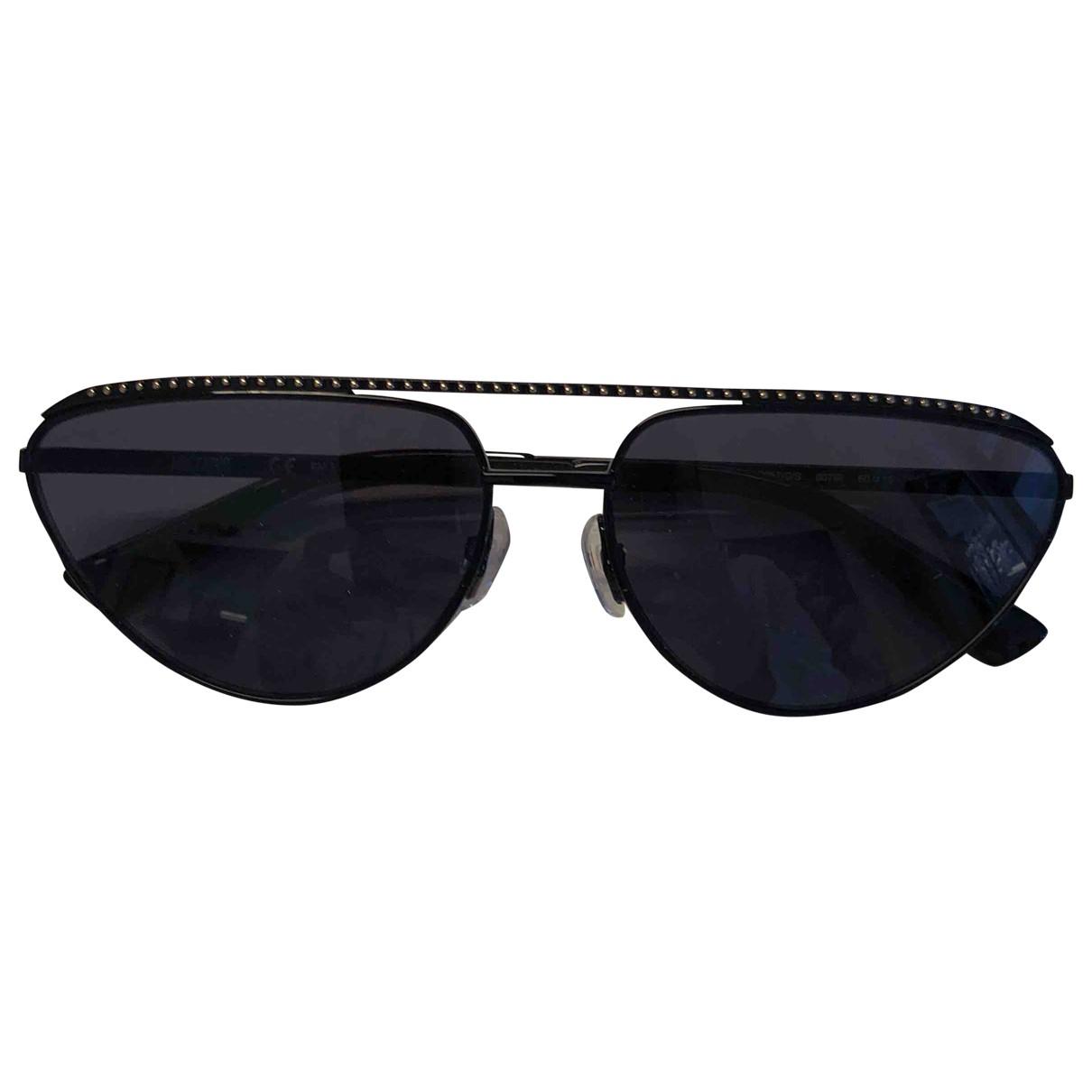 Moschino \N Sonnenbrillen in  Schwarz Metall