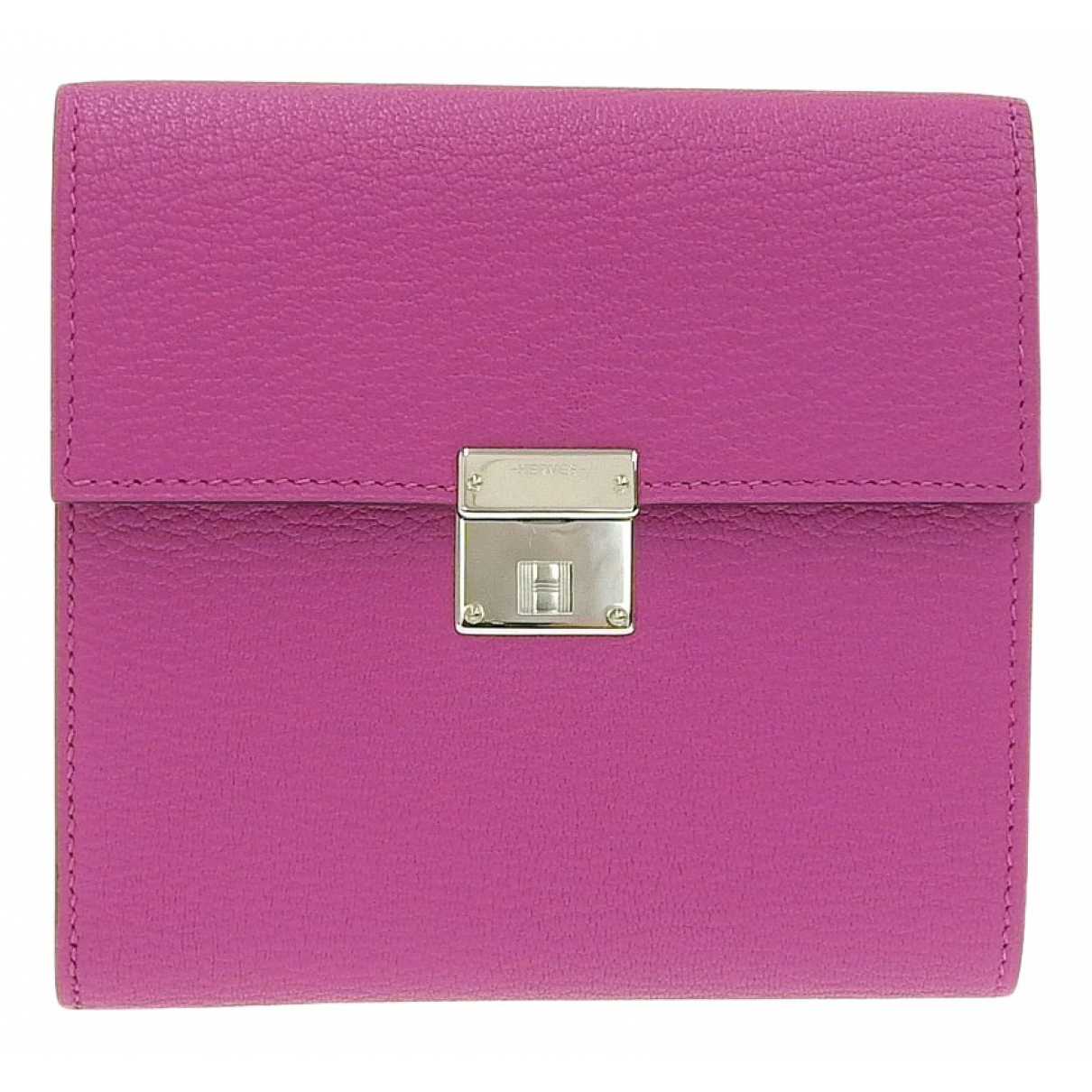 Hermès Clic 12 Black Leather wallet for Women N
